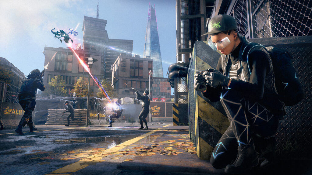 Watch Dogs: Legion Player Attention System