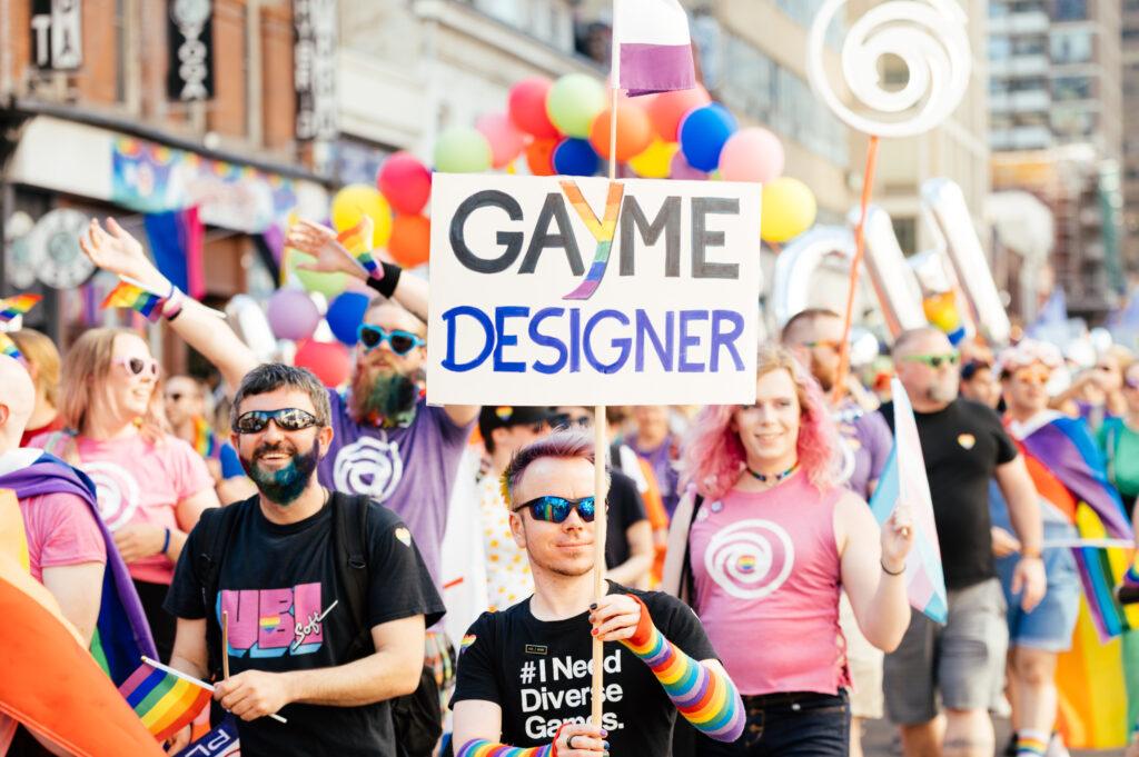 Ubisoft at the Toronto Pride Parade 2019
