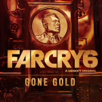 Image of a gold bar with the face of Anton Castillo, the antagonist of Far Cry 6
