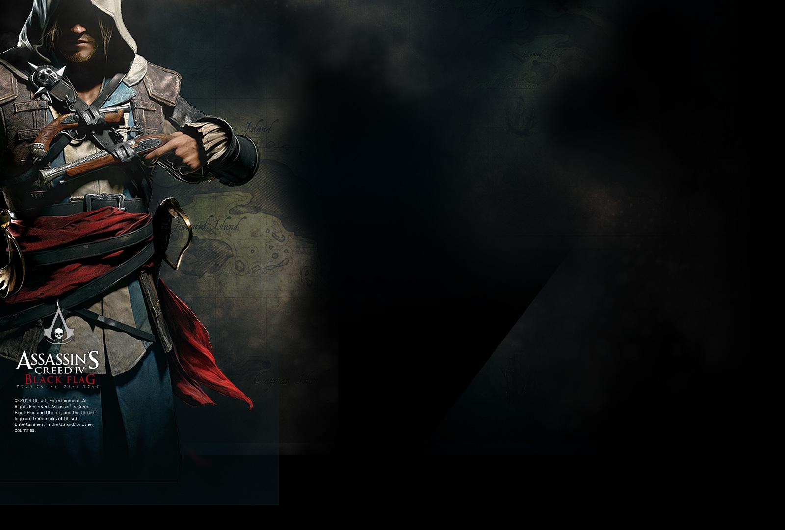 Assassin S Creed 4 Black Flag アサシン クリードiv ブラック フラッグ 壁紙 アイコン ダウンロード Ubisoft