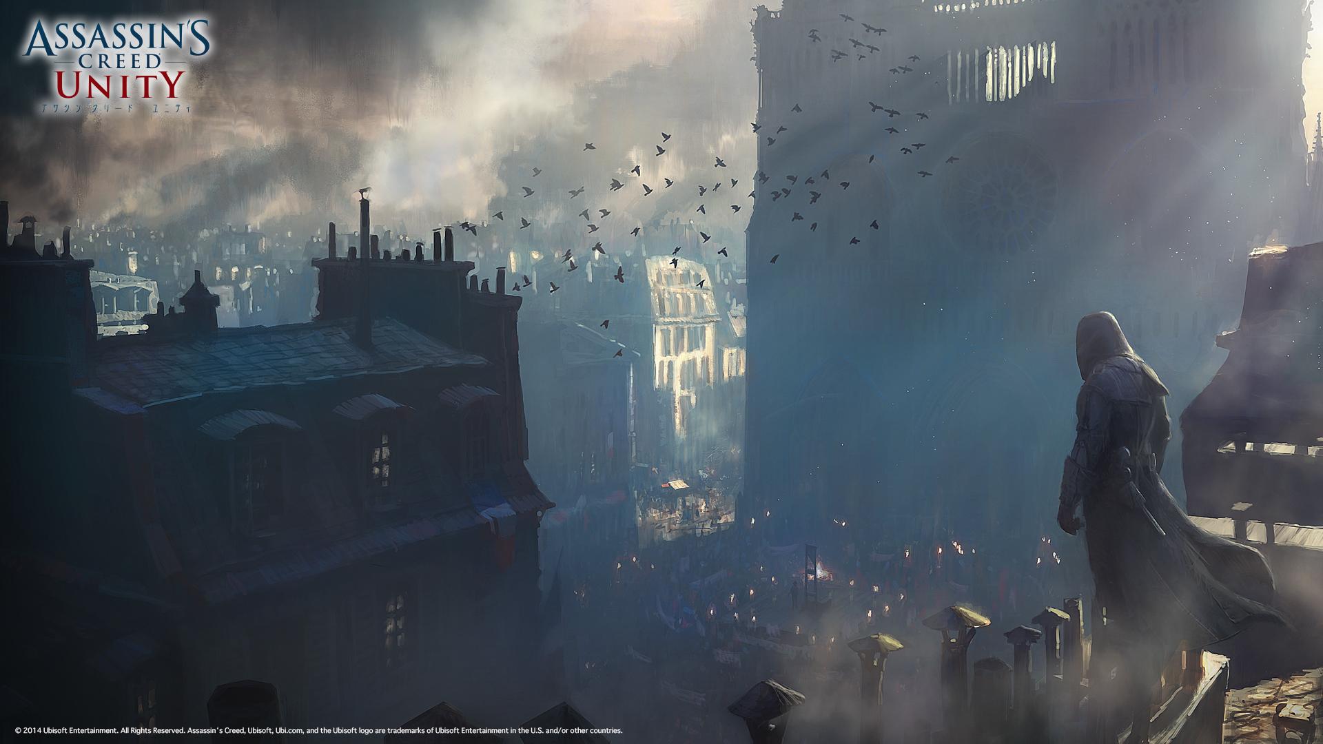 Assassin S Creed Unity アサシン クリード ユニティ 壁紙 アイコンダウンロード Ubisoft