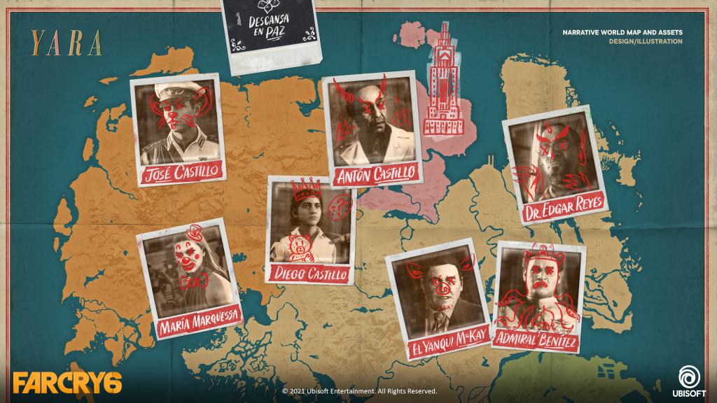 Far Cry 6 Narrative Map 2